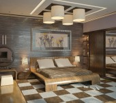 Brown-cream-modern-bedroom