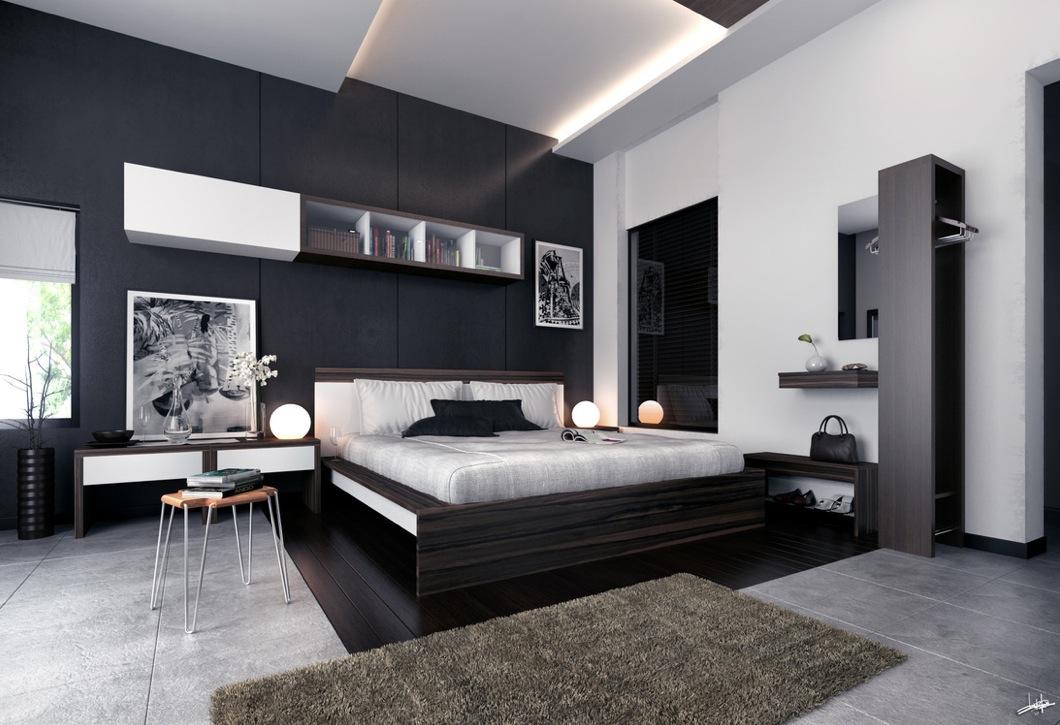 Modern White Bedroom Furniture bedroom furniture black and white - moncler-factory-outlets