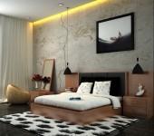 white-brown-black-bedroom-scheme