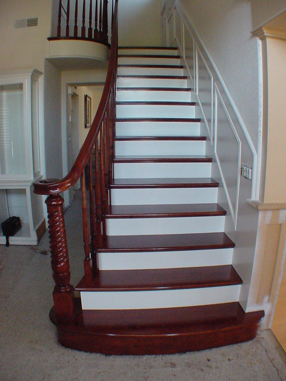 Красивые лестницы домов фото